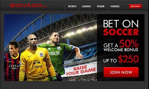 Bovada Soccer Image