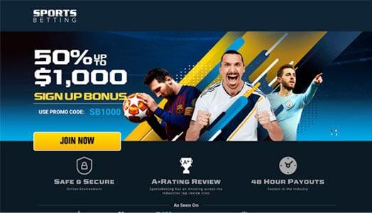 Sportsbetting.ag Soccer Promotion